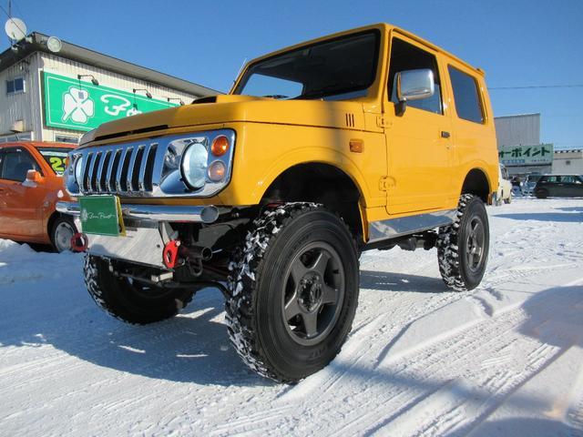 スズキ ランドベンチャー 4WD ボディー&リフトアップ