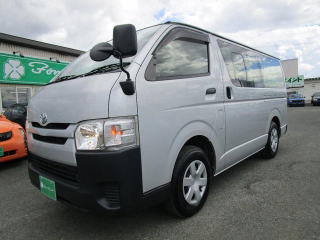 トヨタ ハイエースバン ロングDX 4WD 3.0DT SDナビ バックカメラ リヤヒーター ETC