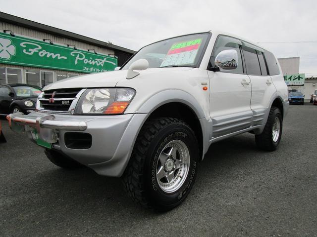 三菱 ロング エクシード 3.5L 4WD オートクルーズ バックカメラ リヤヒーター 1ナンバー登録変更可