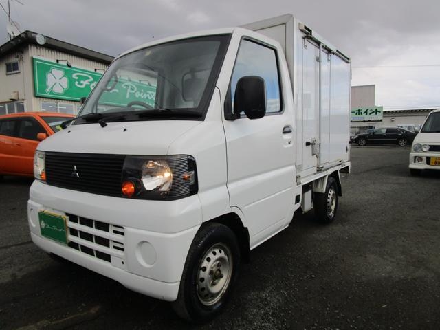 三菱  冷蔵冷凍車 エアコン パワステ