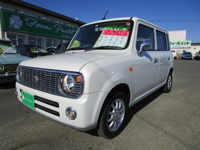 スズキ アルトラパン L 4WD キーレス CD MD シートヒーター ミラーヒーター ABS