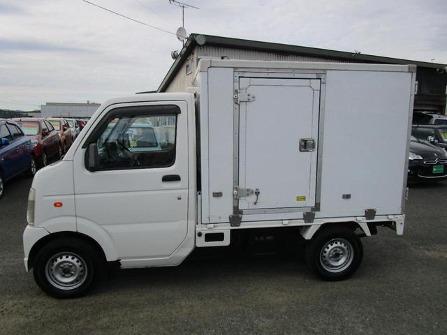 スズキ KC 冷蔵冷凍車 4WD 東プレ製型式KL01H  エアコン パワステ