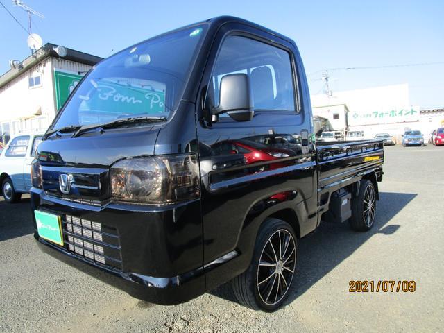 ホンダ アクティトラック SDX 4WD ワンオーナー LEDヘッドランプ 荷台ランプ 16インチアルミ CD MD ABS