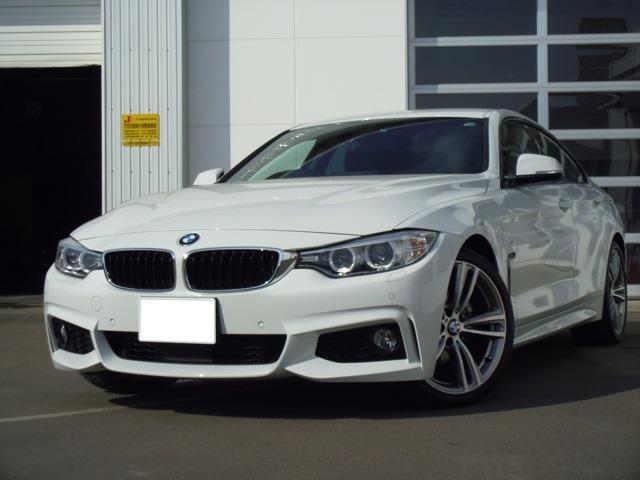 BMW 428iグランクーペ Mスポーツ 認定中古車 ワンオーナー アイドリングストップ バックカメラ