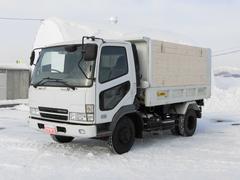 ファイター4トンダンプ 土砂禁 エアコン ABS エアーブレーキ