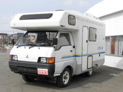 デリカトラックキャンピング 4WD ポータブルナビ バックカメラ