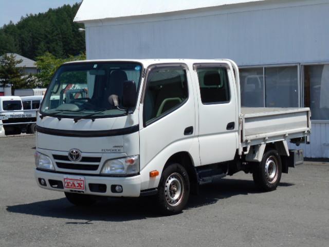 トヨタ Wキャブシングルジャストロー4WD オートマ 社外SDナビ