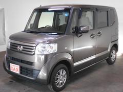 N−BOXG・Lパッケージ 4WD プッシュスタート 社外SDナビ