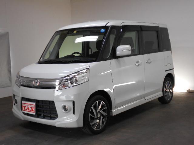 マツダ XT 4WD ターボ 純正SDナビ フルセグTV HID