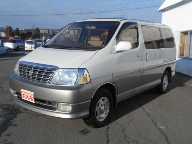 「トヨタ」「グランドハイエース」「ミニバン・ワンボックス」「北海道」の中古車