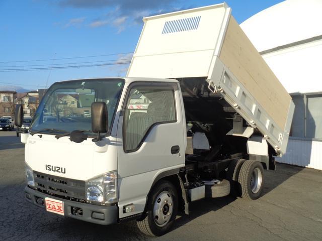 いすゞ エルフトラック 3.0DT 2t 強化ダンプ 架装ダンプ 内寸304-159