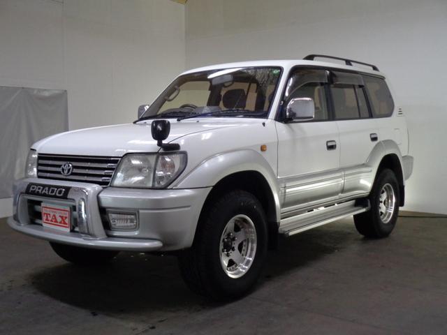 トヨタ ランドクルーザープラド TXリミテッド 4WD 2バッテリーサンルーフタイベル交換済