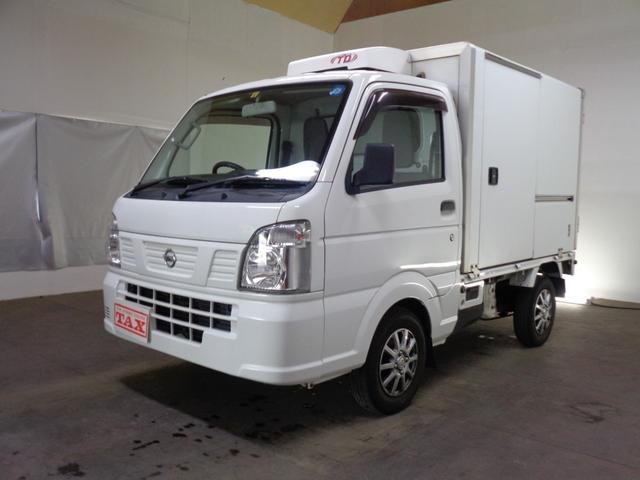 日産 NT100クリッパートラック  中温冷凍車 4WD オートマ 社外アルミ
