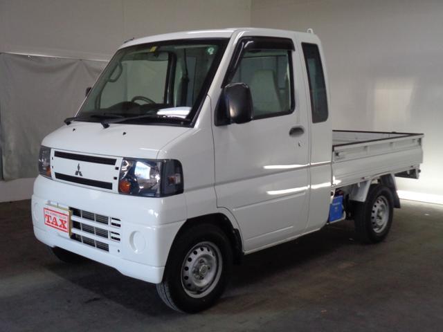 三菱 ミニキャブトラック VX-SE 4WD 社外ポータブルナビ 社外エンスタ