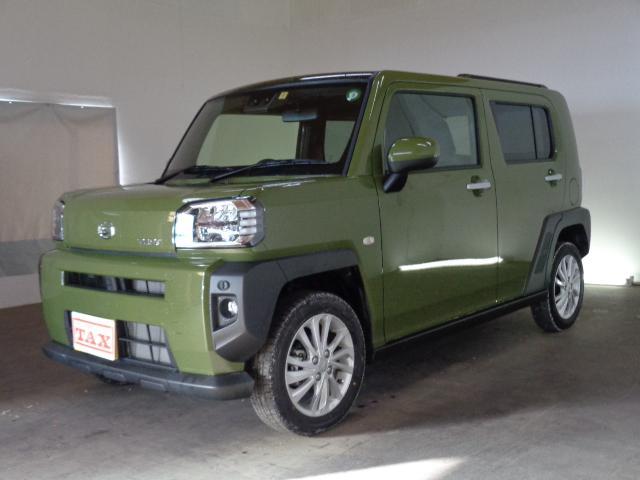 ダイハツ タフト G 4WD 前席シートヒーター LEDヘッドライト