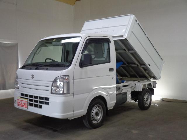 スズキ  清掃ダンプ 4WD モーター式ダンプ パートタイム4WD