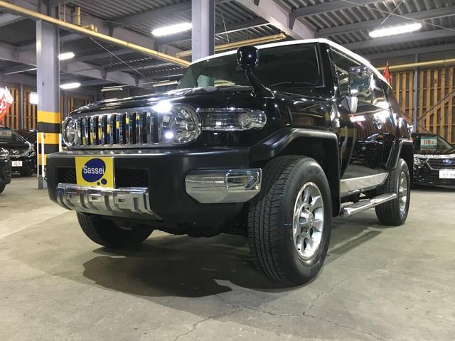 トヨタ オフロードパッケージ  ブラックレザー調シートカバー