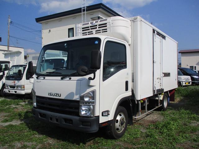 いすゞ 2t 冷蔵冷凍車 4WD 低温 東プレ-30度設定