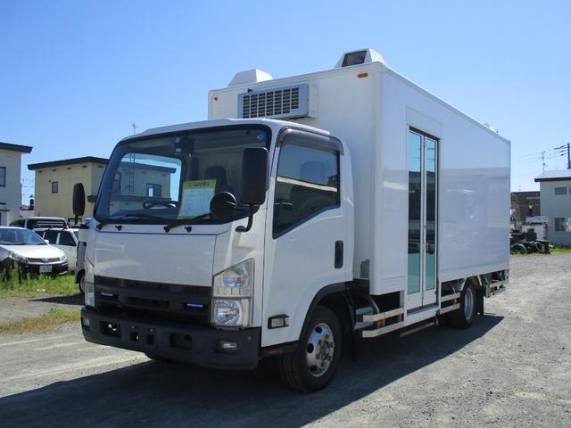 いすゞ エルフトラック 2t 移動販売車 4WD スムーサー バックモニター