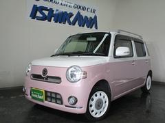 ミラココアココアプラスX SPコーデ4WD 1オーナー ピンクホワイト