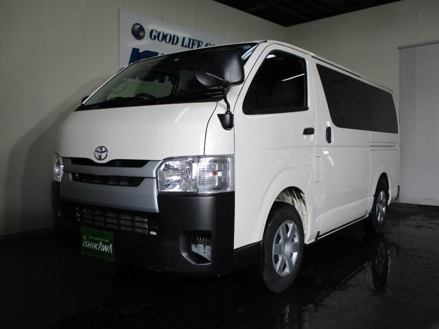 トヨタ ロングDX 4WD 3/6/9人 4D ナビ キーレス