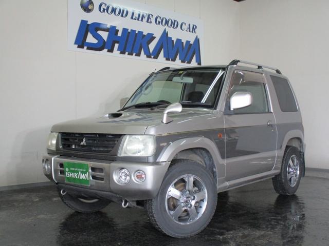 三菱 パジェロミニ リンクスV 4WD ワンオーナー 走行距離8.1万キロ