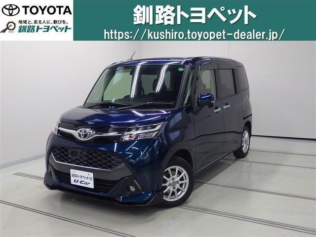 トヨタ タンク カスタムG S 両側電動スライドドア スマートキ- LED