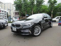 BMW523d ラグジュアリー 2年間走行距離無制限保証 ターボ