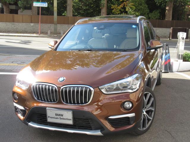 BMW xDrive 20i xライン パノラマガラスサンルーフ フロントシート ヒーティング オートマティックトランクリッドオペレーション リヤビューカメラ予想進路表示機能付 パークディスタンスコントロール ルーフレールサテンアルミニウム