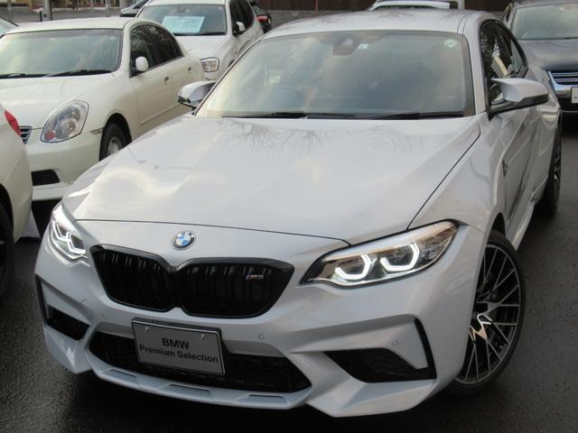 BMW M2 コンペティション REMUSチタンマフラー ハーマンカードンサラウンドサウンドシステムスピーカー 電動フロントシートメモリー機能付 ナビゲーションシステム リヤビューカメラ リヤウィングスポイラー スポーツパドルシフト