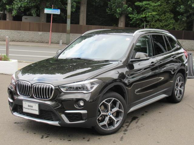 BMW X1 xDrive 20i xライン パークディスタンスコントロール フロントシートヒーティング オートマティックトランクリッドオペレーション リヤビューカメラ予想進路表示機能付 電動フロントシートメモリー機能付 LEDヘッドライト
