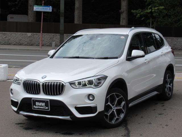 BMW X1 xDrive 18d xライン 車検整備付き アクティブクルーズコントロールストップ&ゴーファンクション パークディスタンスコントロールヘッドアップディスプレイ フロントシートヒーティングLEDヘッドライトアダプティブヘッドライト付