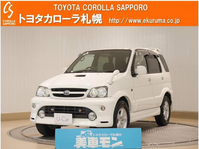 トヨタ Q ターボエアロバージョン 4WD
