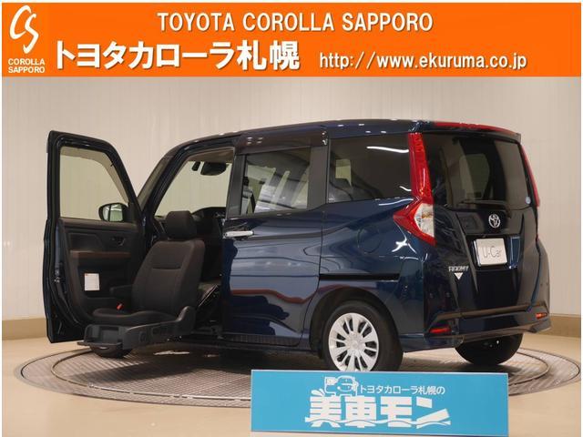 トヨタ G ウェルC助手席リフトUPシート車A 4WD デモカー・スマートアシスト・メモリーナビ・バックモニター付