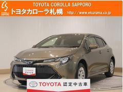カローラスポーツG X 4WD デモカー・トヨタセーフティセンス付