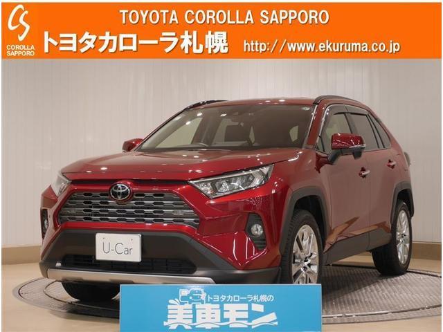 G Zパッケージ 4WD デモカー・トヨタセーフティセンス・メモリーナビ・バックモニター付