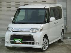 タントカスタムRS オートマ 4WD 社外HDDナビ TVフルセグ スマートキー パワースライドドア HID エンジンスターター