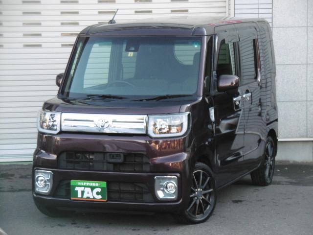 トヨタ ピクシスメガ  4WD 左右パワースライドドア プッシュスタート スマートキー エンジンスターター