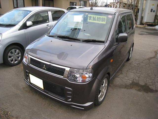 「三菱」「eKスポーツ」「コンパクトカー」「北海道」の中古車
