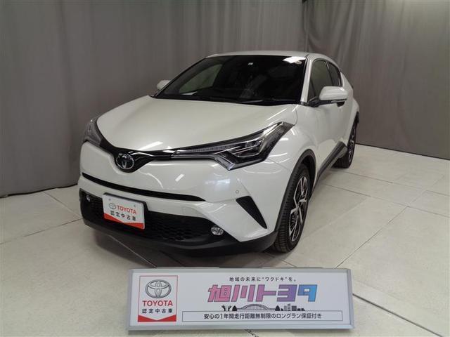トヨタ G-T 4WD TSS 試乗車アップ 革シート 茶×黒 内装