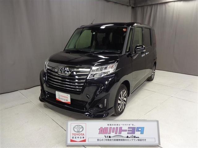 トヨタ カスタムG 4WD SA3 純正ナビ・スタッドレス付