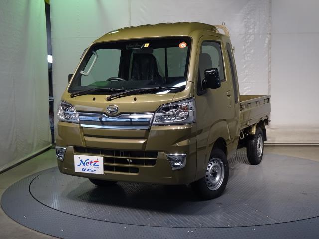 ダイハツ ハイゼットトラック ジャンボSAIIIt 4WD 寒冷地仕様 衝突被害軽減システム 横滑り防止 LEDヘッド 届出済未使用車