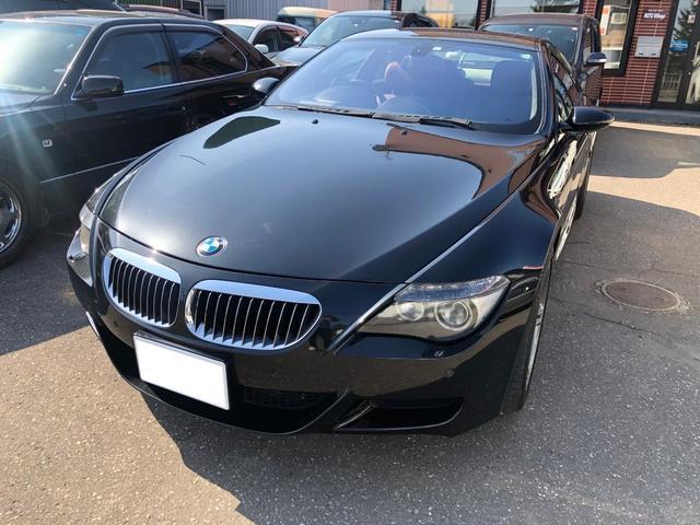 BMW M6  純正ナビ シートヒーター レッドレザーシート 走行距離3.0万キロ