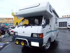 デリカトラック キャンピング ディーゼルターボ 4WD 5速マニュアル(三菱)