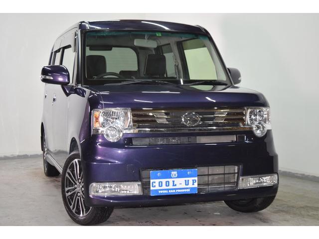 ダイハツ カスタム X VS 4WD SDナビ・本州仕入・三笠店展示場