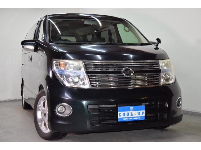 日産 250ハイウェイスター ブラックレザーED 4WD 純ナビ