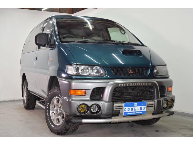 三菱 エクシード4WD ディーゼル・サンルーフ 苫小牧西店展示場