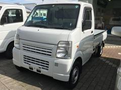スクラムトラックKCパワステ 4WD 5MT 軽トラック CD AUX