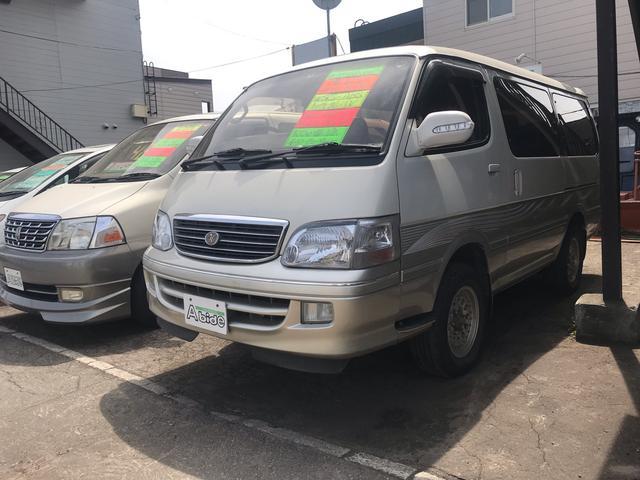 トヨタ スーパーカスタムリミテッド AW サンルーフ ナビ AC
