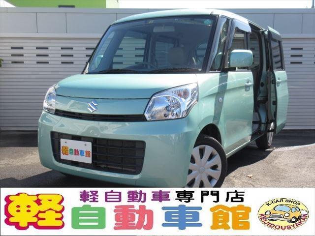 スズキ X 左パワースライドドア メモリーナビ ワンセグTV 4WD